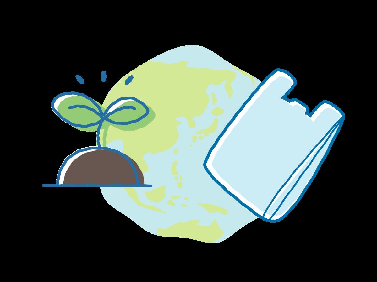 環境にやさしいゴミ袋ってどんなものがあるの?